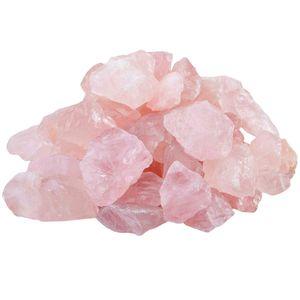 200g natürliche rohe rosa Rosenquarz Kristall Rohstein Probe zum Stolpern, Polieren, Wicca Reiki Crystal Healing