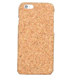 أزياء ريترو كورك الخشب الحالات الهاتف لفون x 10 7 8 زائد 6 6 ثانية صديقة للبيئة خشبية الخيزران الصلب حالة الغطاء الخشب