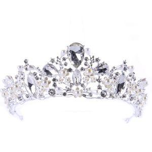 Silver Diamond headwear Fête d'anniversaire Princess Princess Bridal