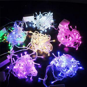 10M 100 leds LED bande lumière Noël cadeau fête de mariage fête décoration décoration lampe lampe 110V ou 220V tension Eu ou US plug
