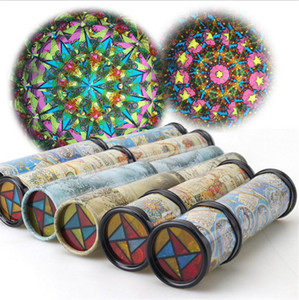 30cm Large Scalable Rotating Kaleidoscopes Erweiterte Rotation Einstellbar Phantasie Farbige Welt Kinder Kinder Intelligenz Puzzle Spielzeug