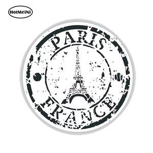 En gros JDM Pays Paris France Seal Vinyle Stickers Autocollants De Voiture En Verre Autocollants Rayures Autocollants Accessoires De Bumper