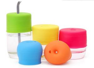 Tapa de silicona Sippy Tapas para pezones para cualquier tamaño Taza para niños Niños pequeños Copa de fugas para bebés y niños pequeños Sin BPA