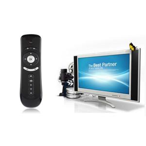 안드로이드 TV 박스를위한 Freeshipping 2.4GHz 에어 마우스 (T2) 자이로 스코프 무선 키보드 스마트 TV 용 PC 3D 원격 감지 에어 마우스