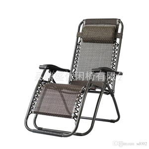 Açık havada Rahat Zaman Katlanabilir Ofis Pratik Plaj Için Katlanabilir Güverte Sandalye Sandalyeler Taşınabilir Yatak Açık Balıkçılık Kullanımı 85ds ZZ
