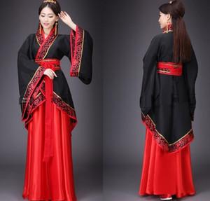 Hanfu traje nacional Antigo Chinês Cosplay Antigo Chinês Hanfu Mulheres Roupas Senhora Vestido de Palco