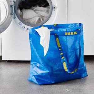 10 pcs Grande Sacola de Compras Tote Grocery Storage Reutilizável Forte FRAKTA Outras fontes do casamento