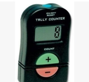 Hot sell Hand Held Electronic Digital Tally Counter Clicker Security Sports Gym School ADD SUBTRACT MODEL with high quality