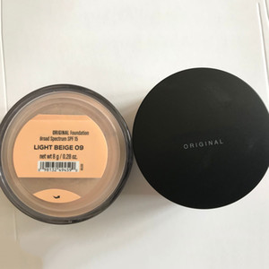 8g Minerals Original Foundation Broad Spectrum SPF 15 Powder Powder Light Beige / Soft Medium / Golden Nude / Fair