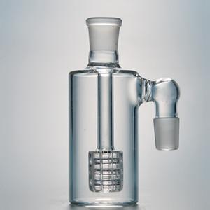 Free DHL 14.5mm 18.8mm Joint Glass Ash Catcher Barrel Percolator Perc Ashcatchers For Bong Dab Rigs Bottle Ash Catchers ASH-P405-408