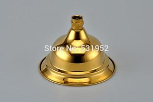 """6"""" High Quality Gold Finish Regentropfen-Messing Duschkopf Klassisches Design Antike Duschkopf-Gold überzieht freies Verschiffen"""