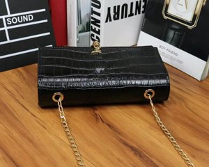 18ss Burst European and American fashion chain pack luxury classic design small package letter logo single-shoulder bag