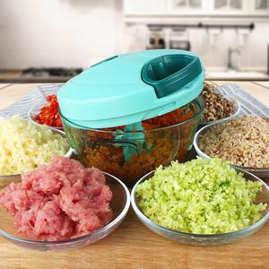 Новый дизайн Многофункциональный Vegetable Chopper Cutter Процессор Измельчитель Чеснок Cutter Овощной Фруктово Twist Измельчитель ручной мясорубки сок