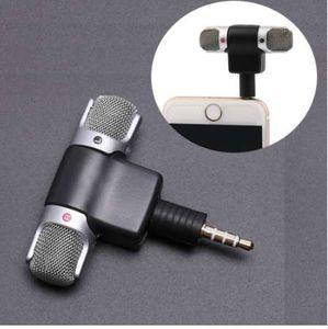 미니 3.5mm 잭 마이크 스테레오 마이크 녹음 용 휴대 전화 용 스튜디오 인터뷰 마이크 스마트 폰용