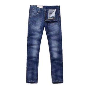 Vomint 2018 Jeans casual da uomo nuovo tessuto elasticizzato in cotone design originale stile basic lavaggio chiaro jeans denim GY8032