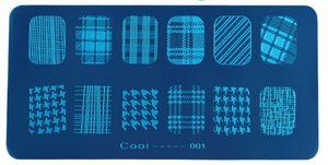 NEW ARRIVAL 36 36 أنواع القوالب NAIL ART TEMPLATES عالية الجودة لوحة الصلب الشحن مجانا