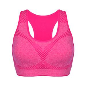 Neue Casual Yoga BH Wireless Baumwolle Stoßfest Solid Candy Farbe Frauen Abnehmen Bh Für Lauf Fitness
