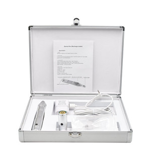Rechargeable Micro Needle Derma Pen With Disposable Cartridges 5 Speed Electric Micro Dermapen With Batteries J1128