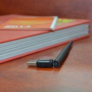 10pcs COMFAST mini USB WiFi USB 2.4G adattatore WiFi per ricevitore Wireless Network PC 5dBi wifi antenna per Windows Xp / Vista 7 Linux