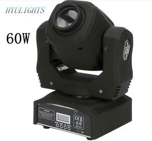 Led 60W Spot Moving Head Light DMX512, Sound active, Master / slave, Stand alon DMX Stage Light 60W mini