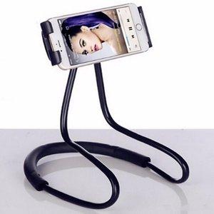 sinle- 피스 게으른 목 전화 홀더 스탠드 유연한 범용 홀더 iPhoen 6 7 8 삼성 갤럭시 S7 S8 Xiaomi 모바일 자동차 전화 홀더