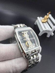 34mmx51mm transparent case movement thin watch mens wristwatch men watch designer automatic mechanical waterproof bracelet strap birthday