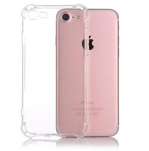 iPhone 11promax X XS MAX XR ve samsung s20p Crystal Clear TPU Kılıf Şok Emme Yumuşak Şeffaf Paneli Arka Kapak serbest gemi için