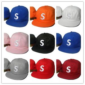2018 Hot baseball di marca Sup papà gorras 5 pannelli di ossa di diamante Ultimo re snapback Caps cappelli Casquette per le donne degli uomini