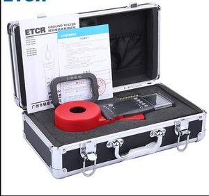 ETCR2100A + Zemin Üzerinde Dijital Kelepçe Toprak Direnci Test Cihazı Metre / Kelepçe Toprak Direnci Test Cihazı