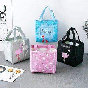 Fashion convenient thermal insulation belt fruit fresh bag thickened handbag lunch box bag aluminum foil lunch box wholesale