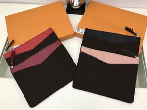 Новый стиль бренда мужская сумка сумка сумка Poyte Voyage кошелек кожаный кошелек муфты M62942 пакеты GC # 118