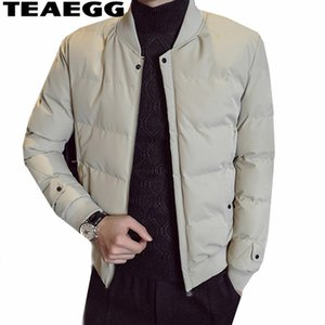 TEAEGG Cotton Jacket Winter Man Blouson Homme Hiver Uomo Parka Chaquetas Hombre Invierno Abbigliamento 2018 Casual Parka HombreAL1505