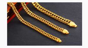 New Cuban Link Chain Necklace 1cm Silver Gold Color Curb Chain For Men Jewelry Corrente De Prata Masculina Wholesale mens necklace Free