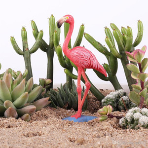 Exquisite Flamingo Model Toy Garage Kit Decorate Toys Cake Ornament Simulation Knickknack Statico statico Giardino Modelli animali Articolo 5 5zx ii