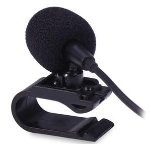 Profesionales Car Audio micrófono de 3,5 mm Jack Plug micrófono estéreo con cable mini micrófono externo para DVD de radio auto 3m LongProfessionals coche Aud