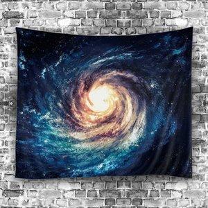 2018 별이 빛나는 하늘의 별 만다라 태피스 트리 비치 테이블 클로스 히피 담요 풍경 장식