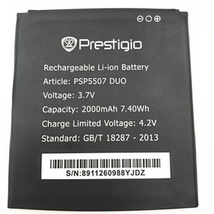 Hohe Kapazität Telefon Akku für Prestigio MultiPhone PSP5507 DUO 5507 Akku Hohe Qualität Kostenloser Versand