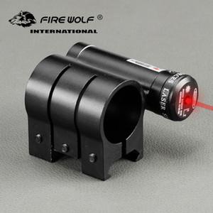Огненный Волк 25 мм кольцо 20 мм Ткачиха железнодорожных база крепление с красной лазерной точкой прицел сфера крепление для охоты Бесплатная доставка