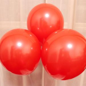 빨간 풍선 100pcs / lot10 인치 1.5g 진주 ballons 장식 크리스마스 풍선 생일 파티 액세서리 웨딩 용품