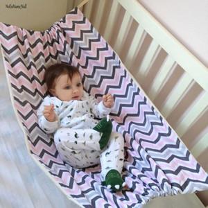 NoEnName-Null Seguridad para bebés Hamaca para bebés Impreso Inicio Al aire libre desmontable portátil Cómodo Kit de cama Asiento colgante para jardín