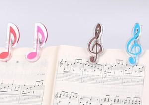En plastique Musique Note Clip Piano Page Page Clamp Musical Treble Clef Clips De Mariage De Fête D'anniversaire Faveur Cadeaux Vente Chaude