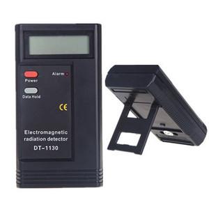 Nuovo misuratore di radiazioni elettromagnetiche LCD digitale EMF meter dosimetro tester portatile strumento di misura dhl spedizione gratuita