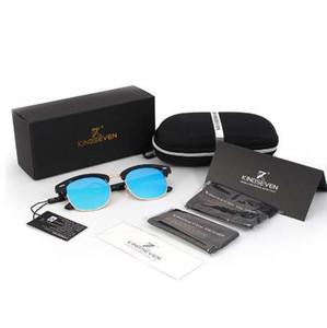 KINGSEVEN Neue Polarisierte Sonnenbrille Männer / Frauen Retro Niet Hohe Qualität Polaroid Objektiv Marke Design Sonnenbrille Weibliche Oculos