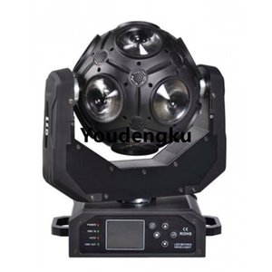 8 unidades Unlimited Rotate Ball beam effect 12 * 20W rgbw Fútbol led disco cabeza móvil Etapa Bola Cabeza móvil luz