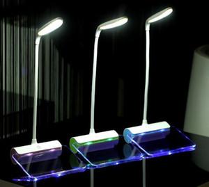 Date Design Rechargeable lampe de bureau LED Light avec panneau de message tactile interrupteur meilleur cadeau pour étudiants enfants