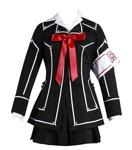 뱀파이어 나이트 쿠란 유키 코스프레 여자 의상 할로윈 블랙 유니폼