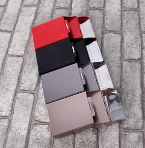 Новая магнитная коробка сигареты сальто, повелительница алюминиевого сплава, магнитная коробка металла способа всасывания