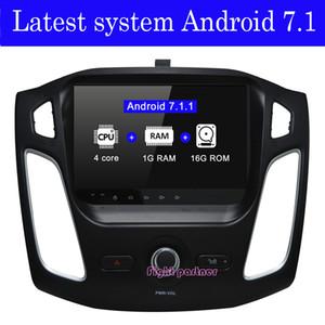 Prix usine dernière Android 7.1.2 lecteur dvd de voiture gps de navigation pour Ford Focus 3 2012 2013 2014 2015 avec BT Wifi GPS