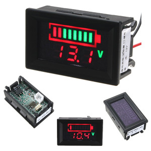 New Indicator Battery Capacity LED Digital Tester 12V Acid Lead Batteries Voltmeter Voltage Battery Testers with Backlight
