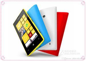 2016 Promosyon Nokia 520 için En Moda Symbian Toptan Orijinal Yenilenmiş Nokia Lumia 520 Cep Telefonu Unlocked Gsm Cep Telefonu